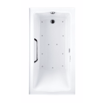 TOTO ABR782L#12Y..2 Clayton Acrylic Drop In Air Bathroom Tub With Left Drain And Blower