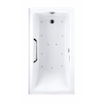 TOTO ABR782R#..N1 Clayton Acrylic Drop In Air Bathtub With Right Drain And Overflow