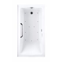 TOTO ABR782R#..N2 Clayton Rectangular Acrylic Air Bathtub With Blower And Right Drain