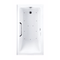 TOTO ABR782R#..N3 Clayton Acrylic Air Bathtub With Right Drain And Left Blower