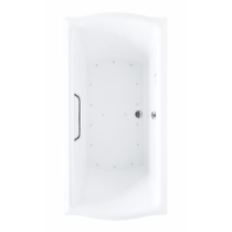 TOTO ABR789S#..N Clayton Right Blower Acrylic Air Bathroom Tub With Overflow