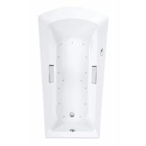 TOTO ABR964S#..N Soiree Acrylic Rectangular Air Bathtub With Right Blower