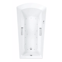 TOTO ABR964S#12Y Soiree Drop In Installation Acrylic Air Bathtub With Right Blower
