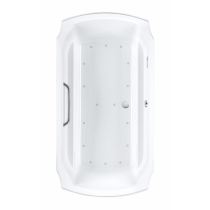 TOTO ABR974S#12Y Guinevere Acrylic Air Bathroom Tub With Right Blower