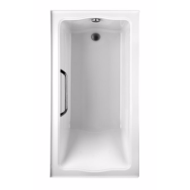 TOTO ABY782P#..N3 Clayton Acrylic Soaker Bathtub With Left Drain And Three Tiling Flanges