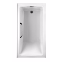 TOTO ABY782Q#..N2 Clayton Soaking Tub With Right Drain And Two Tiling Flanges