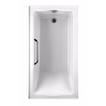 TOTO ABY782Q#..N3 Clayton Drop In Soaker With Right Drain And Three Tiling Flanges