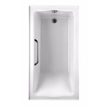 TOTO ABY782Q#12Y Clayton Cast Acrylic Soaker Bathtub With Right Drain