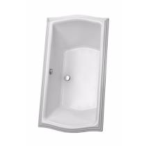 TOTO ABY785N#01Y Clayton Cast Acrylic Soaking Bathroom Tub With Overflow
