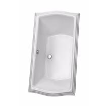 TOTO ABY785N#12Y Clayton Rectangular Acrylic Soaker Bathtub With Grab Bar