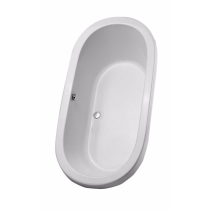 TOTO ABY794N#01Y Nexus Acrylic Drop In Installation Soaking Bathroom Tub