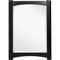American Imagination AI-1143 Rectangular Wood Framed Bathroom Mirror