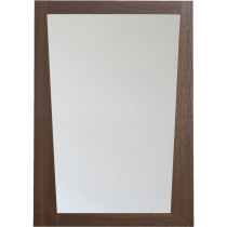 American Imagination AI-1208 Modern Wall Mounted Bathroom Mirror in Wenge