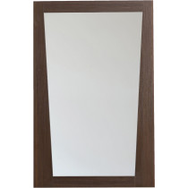American Imagination AI-1210 Modern Wood Frame Bathroom Mirror in Wenge