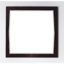 American Imagination AI-401 Transitional Wood Mirror with Beveled Edge