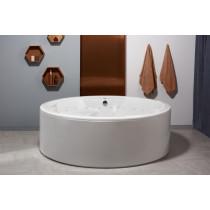 Aquatica Allegra-FS-Rlx Whirlpool Free Standing Relax Air Massage Bathtub In White