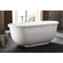 EAGO AM128ETL 6 ft Acrylic White Whirlpool Bathtub With Fixtures