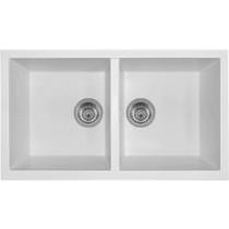 Latoscana AM8620ST Undermount Double Bowl Granite Kitchen Sink