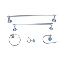 Arista BA5301-5PCS-SET-CH Annchester 5 Piece Accessory Set In Chrome Finish