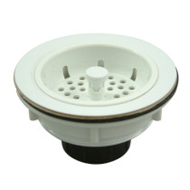 Gourmetier BSP1011 Kitchen Sink Strainer in White