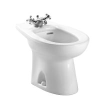 TOTO BT500AR Piedmont Floor Mounted Porcelain Bidet For Single Hole Faucets