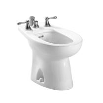 TOTO BT500B Piedmont Vertical Spray Porcelain Bidet With Flushing Rim