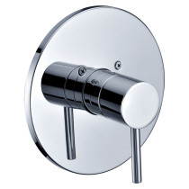Dawn D2222201C Lever Handle Pressure Balancing Shower Valve Trim in Chrome