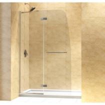 "Dreamline DL-6522R-..CL Aqua Ultra Shower Door &34"" by 60"" Base Right Drain"