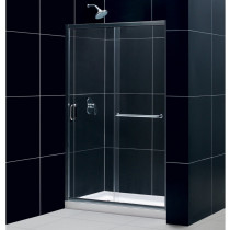 "Dreamline DL-6975C-01CL Clear Shower Door and 36"" by 48"" Base - Chrome"