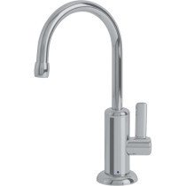 Franke DW11080 Logik Deck Mount Little Butler Bar KItchen Faucet Cold Only in Satin Nickel
