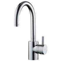 Franke DW13050 Steel Series Little Butler Bar Kitchen Faucet in Stainless Steel