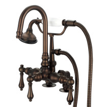 Water Creation F6-0013-03-AL Oil Rubbed Bronze with Lever Handles