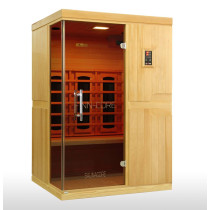 SaunaCore FN4X4H Entry Level Sauna Room In Hemlock Wood