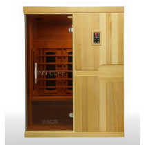 SaunaCore FN4X5H Economy Three People Infrared Sauna Room