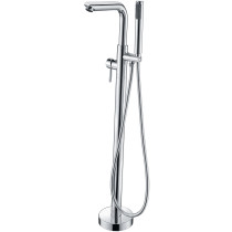 ANZZI FS-AZ0026CH Sens Tub Faucet With Hand Shower In Polished Chrome