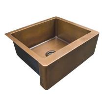 "Barclay FSCSB3096-SAC Austin 30"" Rectangular Farmer Sink in Antique Copper"