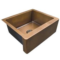 "Barclay FSCSB3100-SAC Austin 36"" Single Bowl Antique Copper Farmhouse Sink"