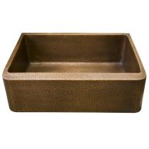 "Barclay FSCSB3118-AC Avena 36"" Antique Copper Single Bowl Farmhouse Sink"