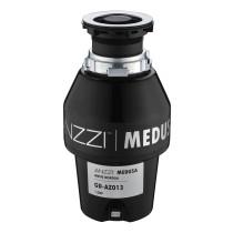ANZZI GD-AZ013 MEDUSA Series 1/3 HP Kitchen Garbage Disposal In Black
