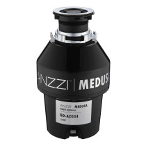 ANZZI GD-AZ034 MEDUSA Series 3/4 HP Continuous Garbage Disposal In Black