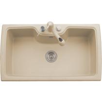Latoscana HR0860 35 Inch Single Basin Drop In Granite kitchen Sink - In Sand Color