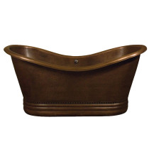 Copper Bathtub COTDSN72P-AC