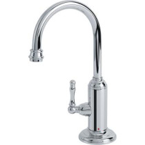 Franke LB12100 Farm House Kitchen Series Little Butler Point-of-Use Faucet for Hot Water in Chrome