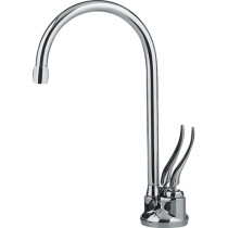 Franke LB5200-FRC-HT Hot and Cold Water Traditional Point of Use Faucet In Poished Chrome