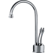 Franke LB6200-FRC-HT Deck Mounted One Lever Handle Kitchen Faucet In Polished Chrome