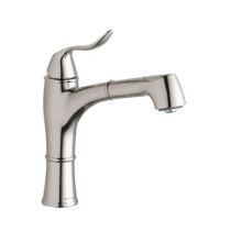 """Elkay LKEC1041CR Echo 12-1/4"""" Single Handle Kitchen Faucet with Pull Out Spray In Polished Chrome"""