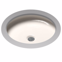 TOTO LT183#12 Sedona Beige Curva™ Undercounter Lavatory Sink With Rear Overflow