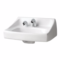 TOTO LT307A#01 Cotton Commercial Wall-Hung Lavatory With Soap Dispenser Hole