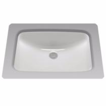 TOTO LT542G#01 Rectangular Undermount Bathroom Sink In Cotton