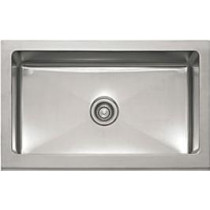 Franke MHX710-30 Manor House Stainless Steel Single Bowl Apron-Front Kitchen Sink